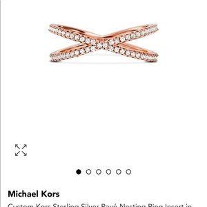 Michael kors brilliance ring